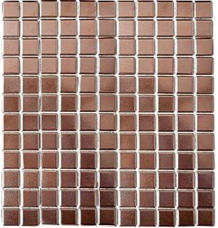 Fliesen Mosaik Mosaikfliesen Glas Glanzend Kupfer Bad Wc Kuche 8mm