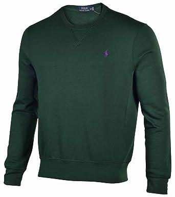 c2a6cf83c95 Polo Ralph Lauren Mens Fleece Crewneck Sweatshirt (Northwest Pine ...