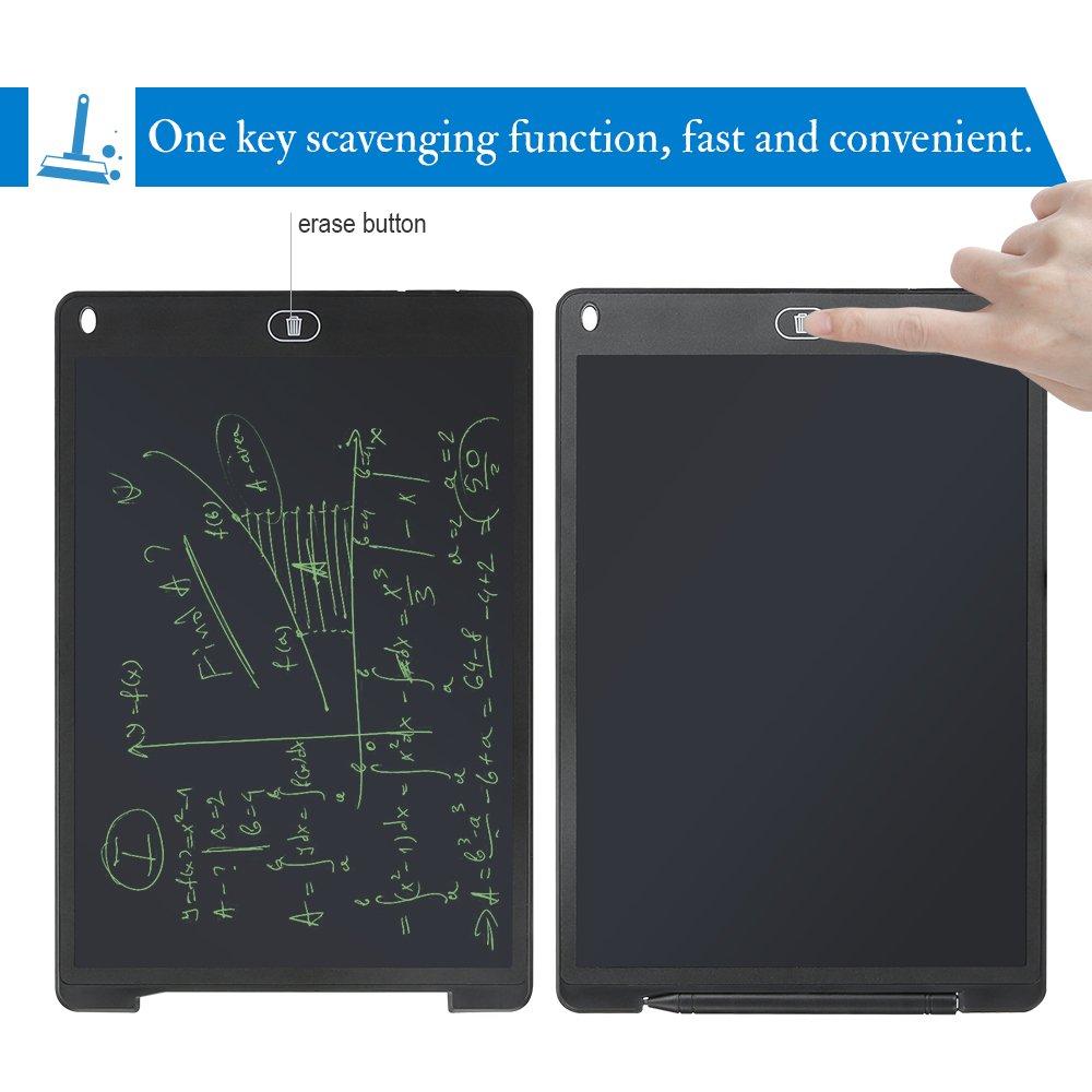 Cancellazione di un Pulsante e Mantenere la Funzione del Contenuto,per Insegnante Studenti Tavoletta Grafica Scrittura Tablet LCD 28 X 18,5cm con Penna Wireless Disegni di Animazione Progettista