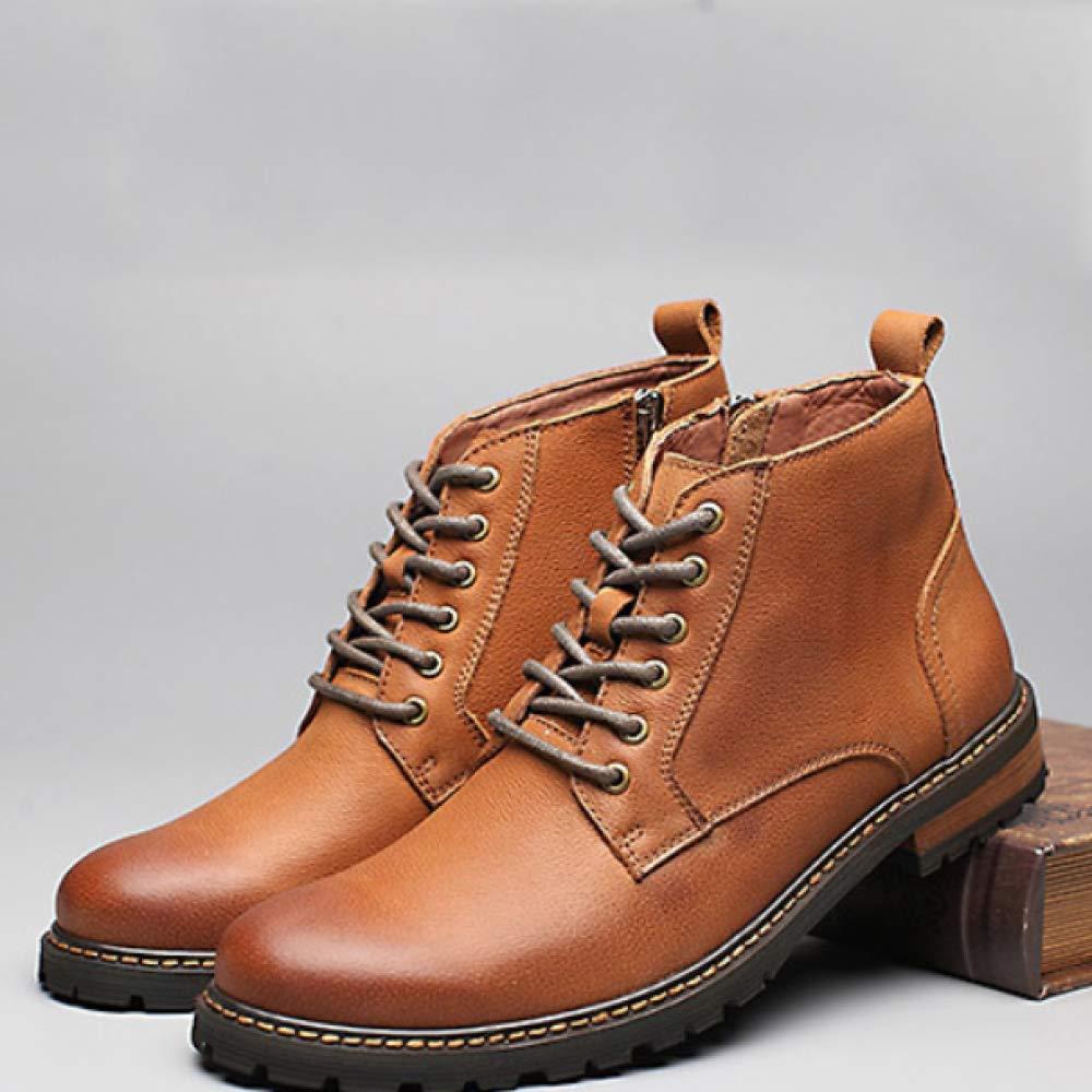 Martin Stiefel Leder Stiefel England Casual Herren Stiefel Hohe Stiefel Leder Lederstiefel Earthyellow d2c1dc