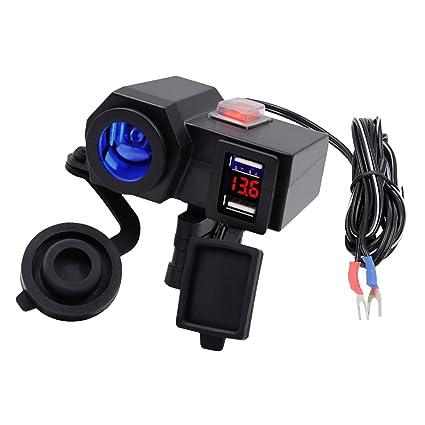 USB Cargador Puerto Doble de Teléfono GPS Encendedor de ...