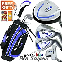 """NEW 2017"" BEN SAYERS JUNIOR M1i BLUE COMPLETE GOLF SET 5-8 YEARS"