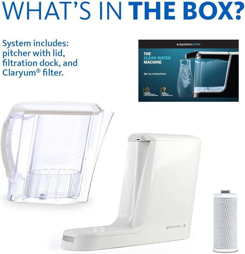White 2 Piece 2-Pack Aquasana AQ-CWM-R-D Replacement Filters for Clean Water Machine