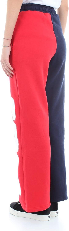 Fila Pantaloni Barbara Color Block Flared Peacot Red-M