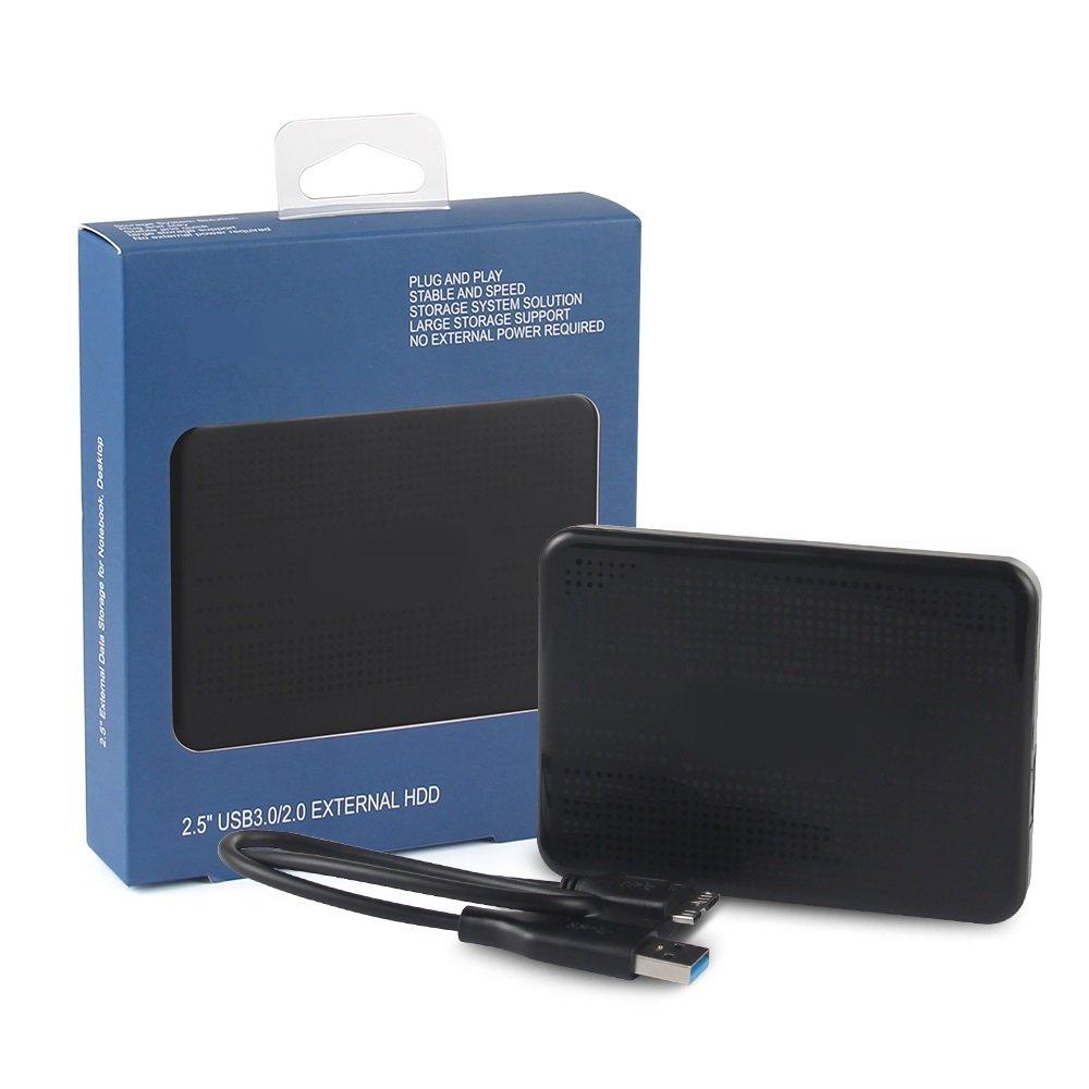 JY 2.5'' External Hard Drive 320gb with USB3.0 Data Storage External HDD for Notebook, Desktop