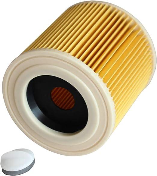 Filtros HEPA de reemplazo para aspiradoras con hebilla de bloqueo Compatible con KARCHER WD2250 WD3200 WD3 WD2200 WD2240 A2200: Amazon.es: Hogar