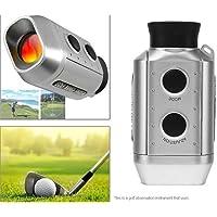 Leoie 7 x 18 462 pies 1000 yds Digital Golf Range Finder Golfrange Rangefinder Yards Medidor Distancia Caza Alcance Prismáticos