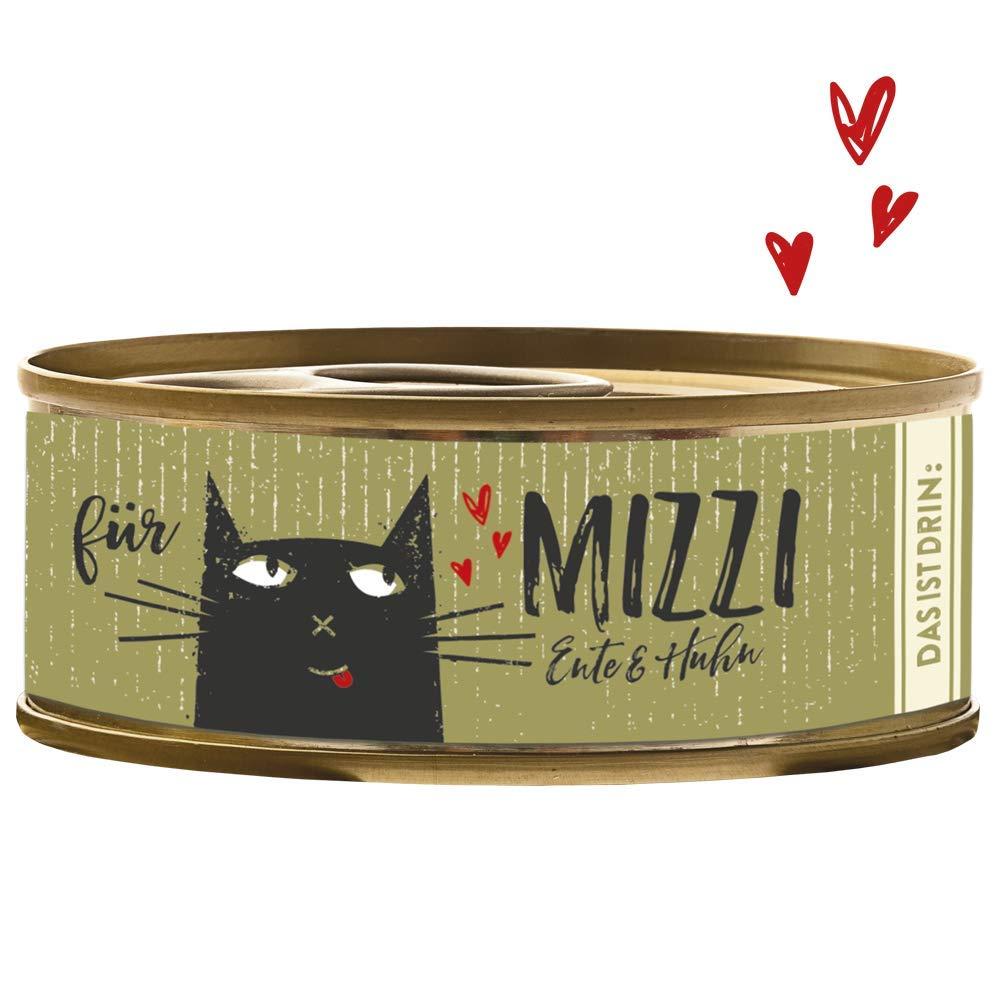 Gato latas Forro - Gato húmedo Forro - Mizzi - Pato & lata de ...