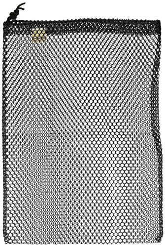Equinox Nylon Mesh Stuff Sack (7 x 10-Inch, Black)
