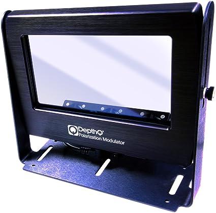 Amazon.com: DEPTHQ® 3d estándar modulador de polarización ...