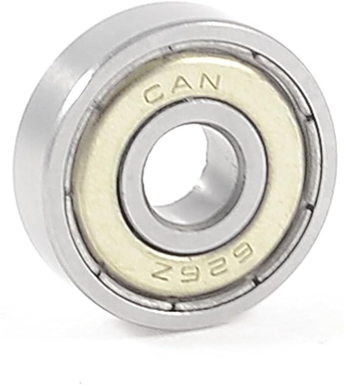 Flange Metal Double Shielded Ball Bearing Bearings F605zz 5x14x5 mm 5 PCS