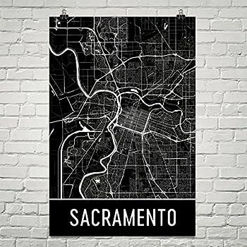 Sacramento Poster, Sacramento Art Print, Sacramento Wall Art, Sacramento Map, Sacramento City Map, Sacramento California City Map Art,Sacramento Gift ...