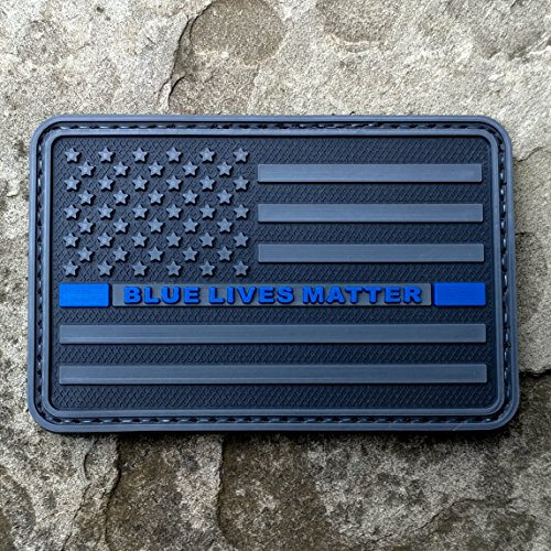 Lives Matter Rubber Tactical Morale