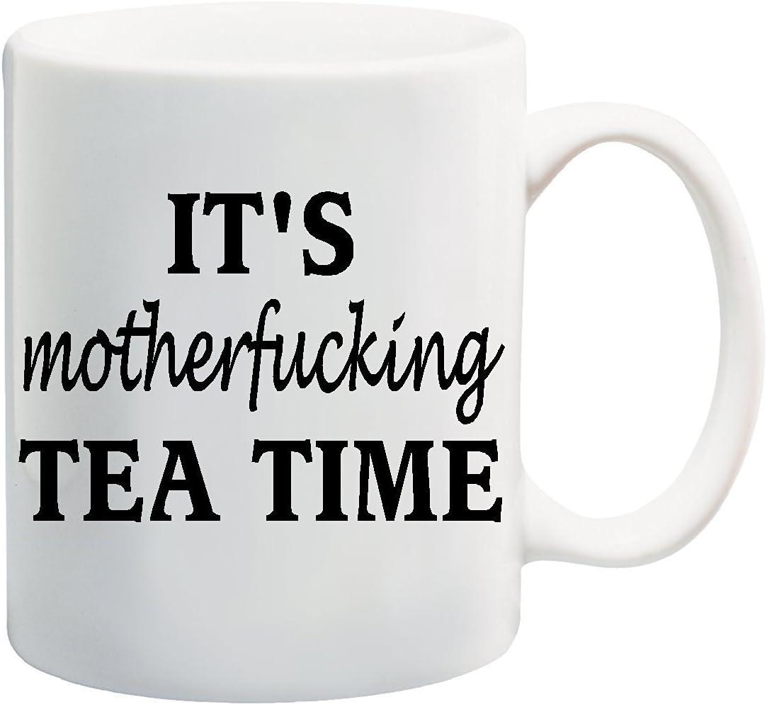 vulgar vintage style rose tea pot It/'s motherfucking tea time