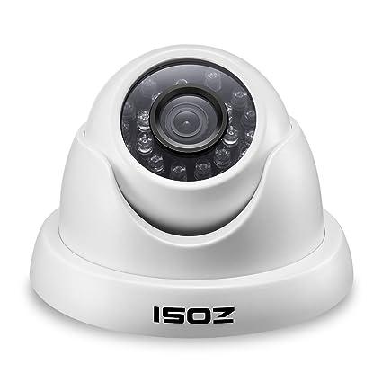 Amazon.com: zosi 800TVL Cámara CCTV 24 IR LEDs interior al ...