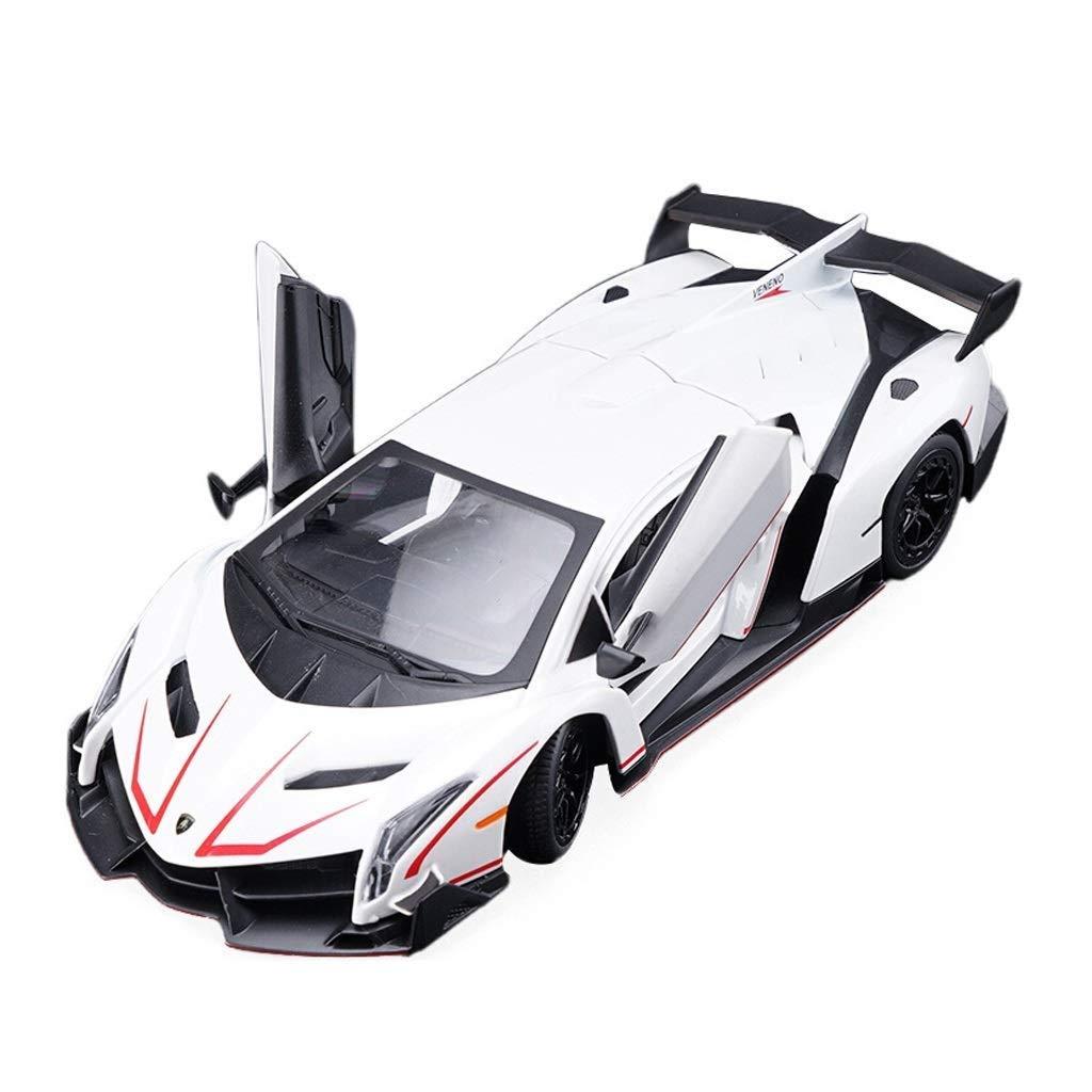 Yapin Lamborghini VENENO Voiture De Sport 1:24 Simulation En Alliage De M/étal Voiture De Sport Mod/èle De Voiture Ornaments M/âle Adulte Jouets Vestes V/êtements de protection