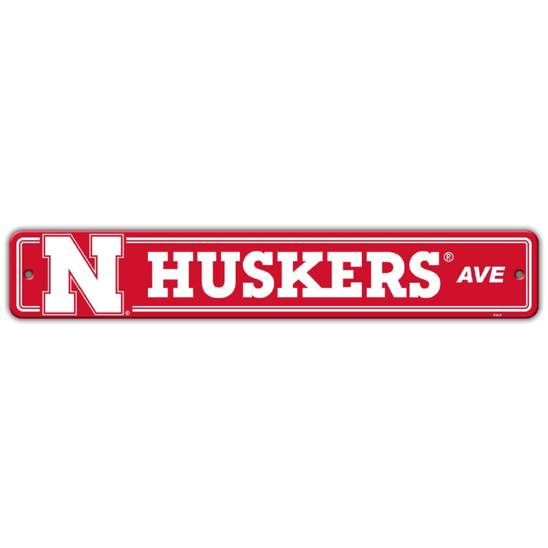 Flagpole To Go NCAA Nebraska Cornhuskers Street Sign