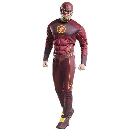 Amakando Traje Hombre Flash - STD (48 - 52) | Disfraz Deluxe ...