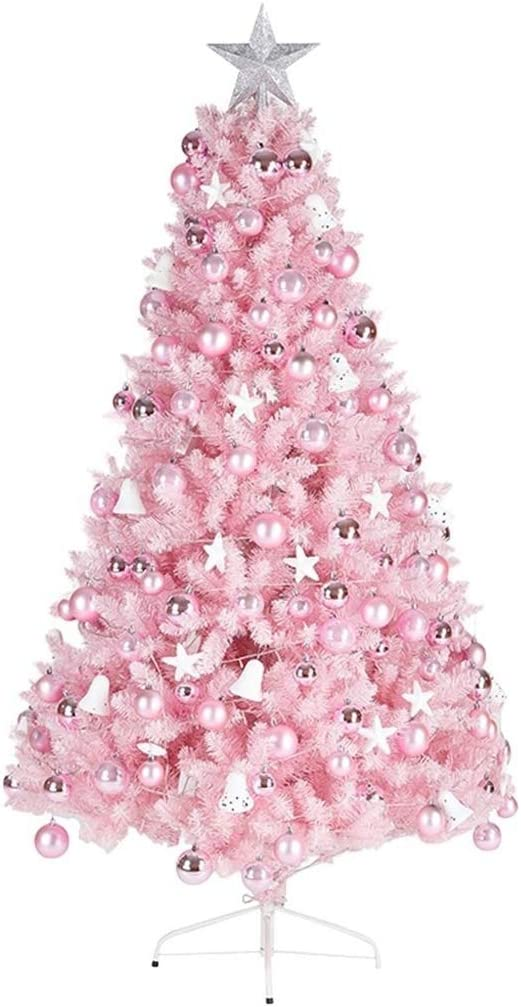 RJJX Home Christmas Tree Christmas Decorations, Encrypted Pink Christmas Tree, Christmas Decoration Gifts, Pink (Color : 210cm): Amazon.co.uk: Kitchen & Home