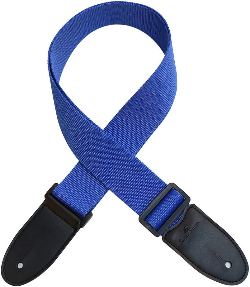 Correa para Guitarra y bajo SOUNDSATION PPBL en Color Azul