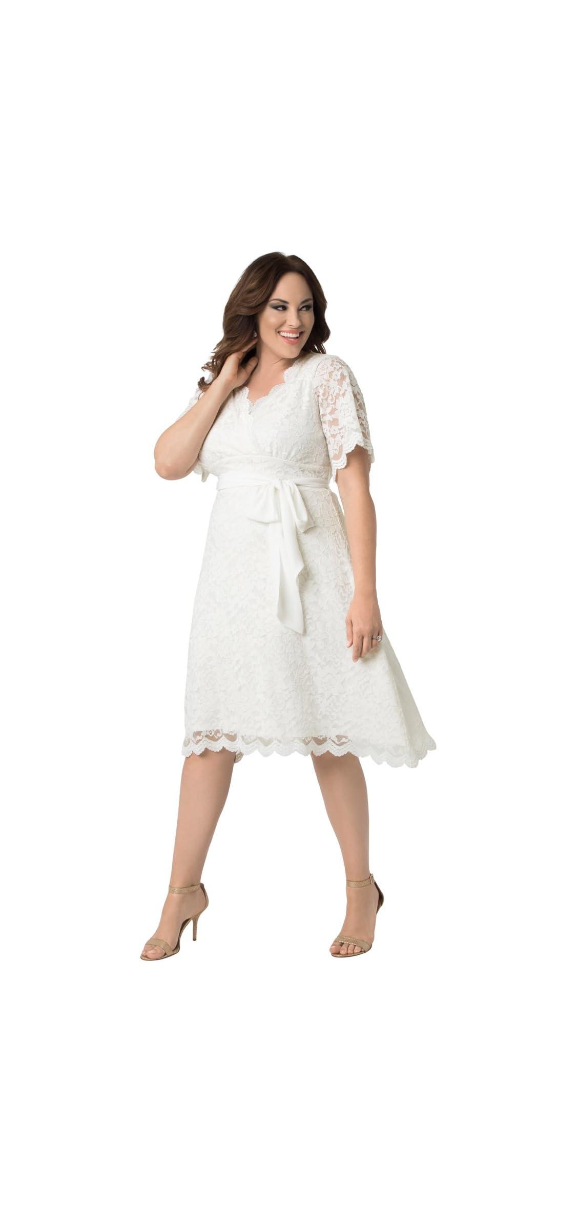Women's Plus Size Graced With Love Wedding Dress