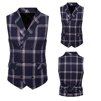 Wawer Casual Hombres Camisa, Hombre Cuadros la Chaqueta de Disfraz ...