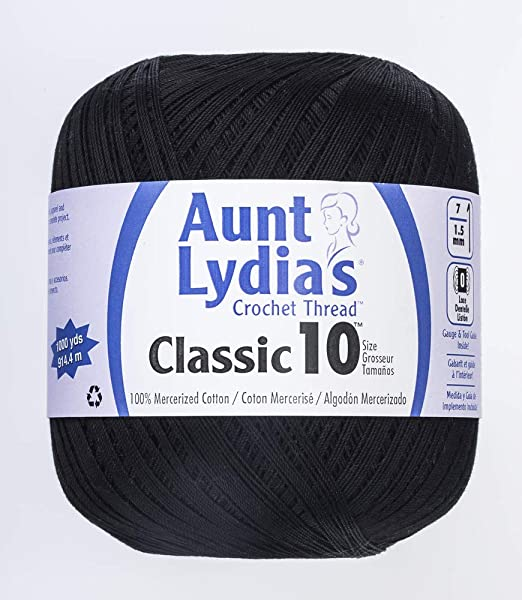Natural Aunt Lydia Value Crochet Cotton