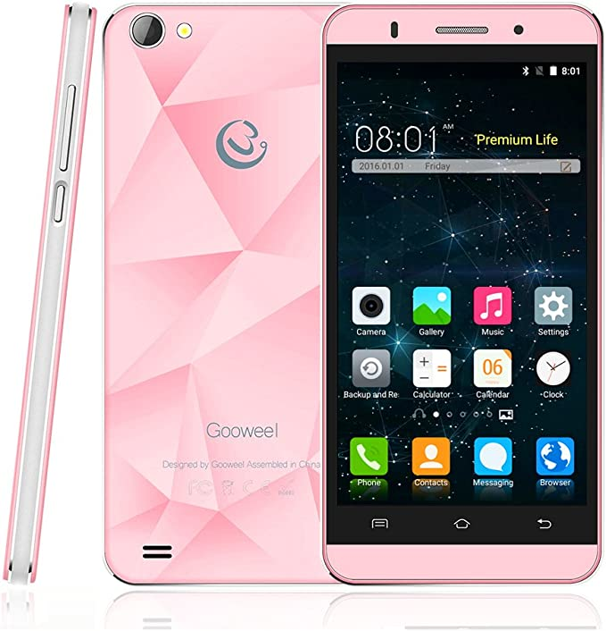 Gooweel M5 Pro Funda para teléfono MTK6580 Quad Core 5 Pulgadas ...