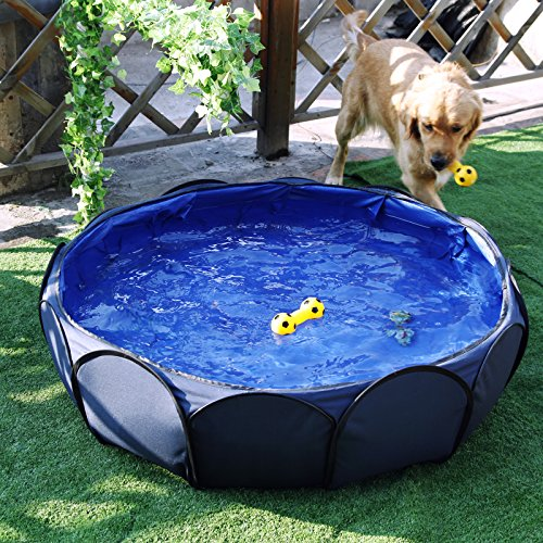 Petsfit 41 Foldable and portable Pet Swimming Pool,Ball Pit For Baby Or Puppy