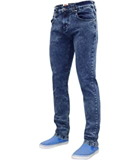 a28e9b52e9a Life   Glory Mens New Life   Glory Basicon Stretch Slim Grey Jeans ...