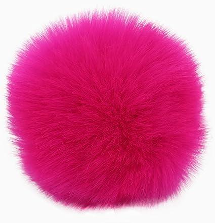 Multi or Single Color Fun Fluffy Pom Pom/'s 3.5 inches