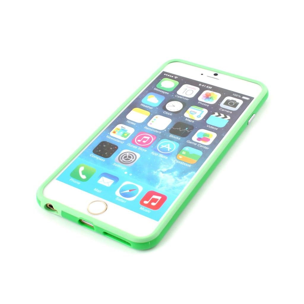 Iphone 6/6s Silicon Bumper Green by G4GADGET® G4GADGET® GB570081