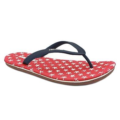 1c44c63c1cde04 Converse Sandstar US Flag 129580C Unisex Rubber Flip Flops Navy Red - 8   Amazon.co.uk  Shoes   Bags