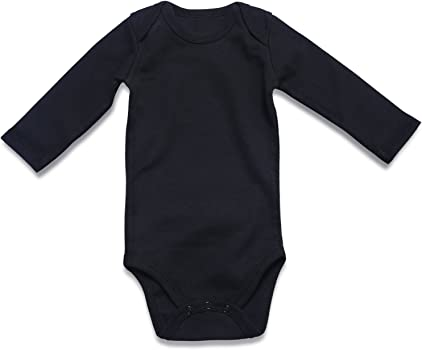 DEFAHN 2-Pack/ Unisex Baby Bodysuit Solid Infant Boy Girl Short//Long Sleeve/ Onesies 0-24 Months