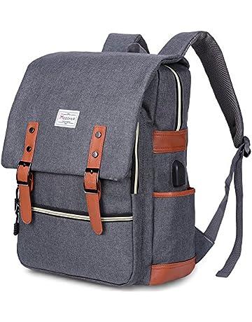 Modoker Vintage Laptop Backpack for Women Men 9ed7eb866b069