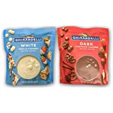 Ghirardelli Melting Wafers Variety Pack with Ghirardelli White Chocolate Melting Wafers and Ghirardelli Dark Chocolate Melting Wafers. One Stop Shopping for the Best Tasting Melting Chocolate Wafers.