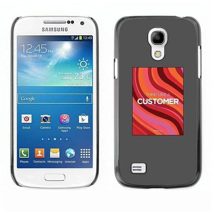 For Samsung Galaxy S4 Mini (NOT for regular S4) Case , Servicio al ...