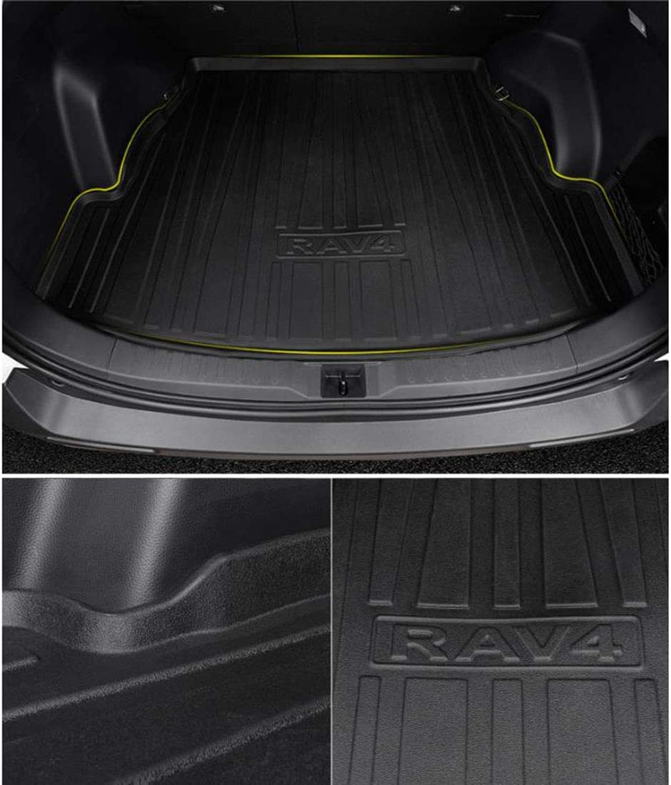 Car Rear Trunk Storage Mat Cargo Tray Trunk Waterproof Protective Pads Mat Compatible for RAV4 2019-2020