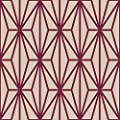 WallsByMe Peel and Stick Violet and Beige Diamond Geometric Removable Wallpaper 185a