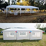 Cheap GOJOOASIS Wedding Canopy Tent Improved All Metal Frame 10'x30′ Outdoor Party Gazebo