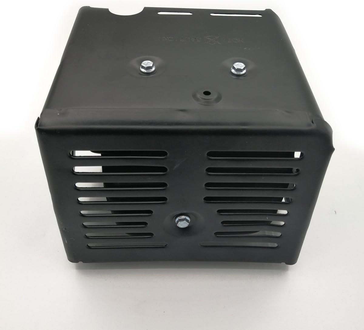 Cancanle Silenziatore di Scarico per Honda GX340 GX390 GX420 11HP 13HP 389cc 420cc Tempi Gas Motore Pompa Acqua 18310-ZE2-W61