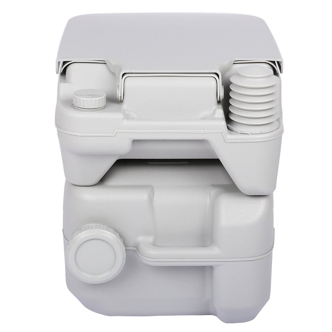 5 Gallon 20L Portable WC Toilet - TOOGOO(R) 5 Gallon 20L Portable WC Toilet Flush Camping Porta Travel Outdoor Hiking Potty by TOOGOO(R) (Image #4)