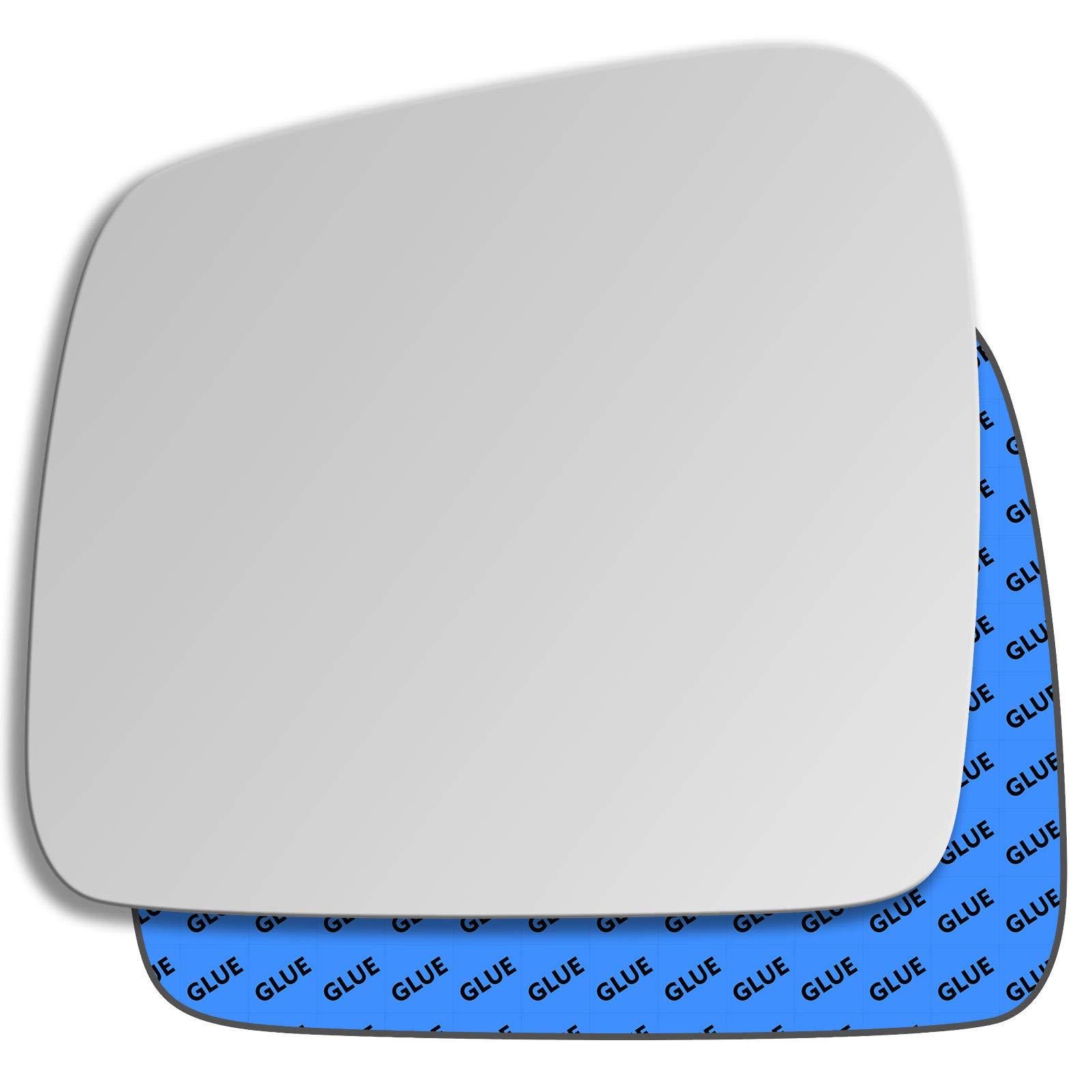 Hightecpl 25LS Left Passenger Side Convex Door Wing Mirror Glass