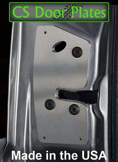 Amazon Com Door Latch Repair Reinforcement Plate Compatible With Jeep Grand Cherokee Zj 93 98 Driver Home Improvement