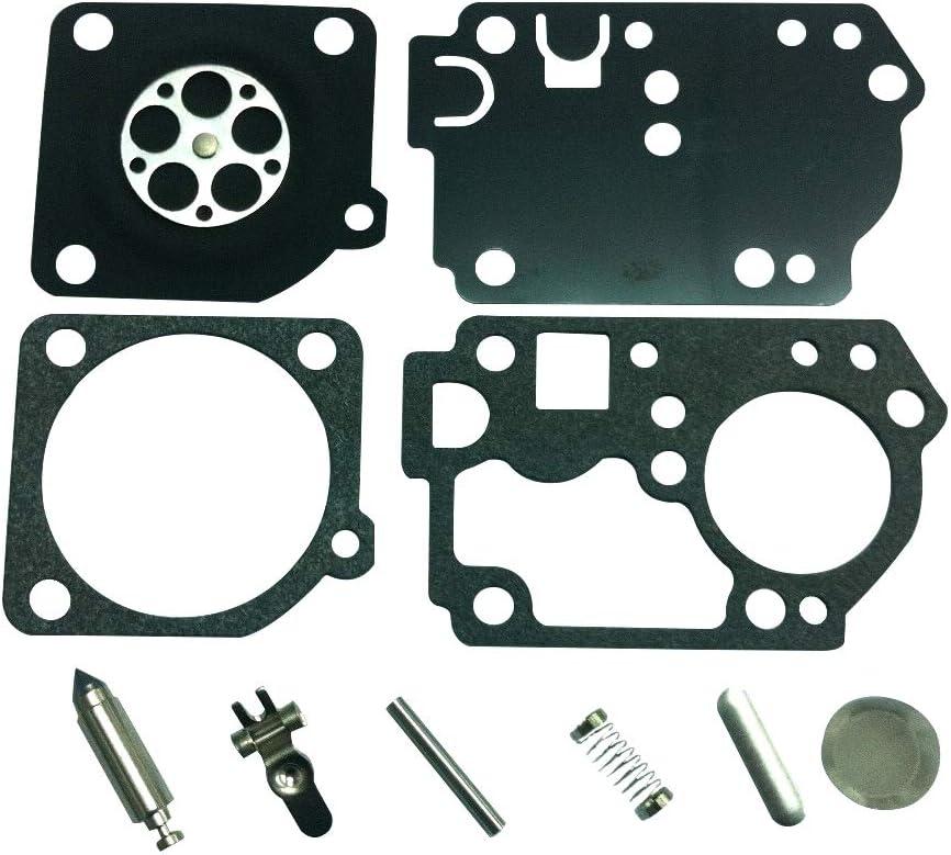Kit de r/éparation de carburateur remplace ZAMA RB-141 pour Tondeuse Homelite ZAMA C1U-H62 C1U-H62A