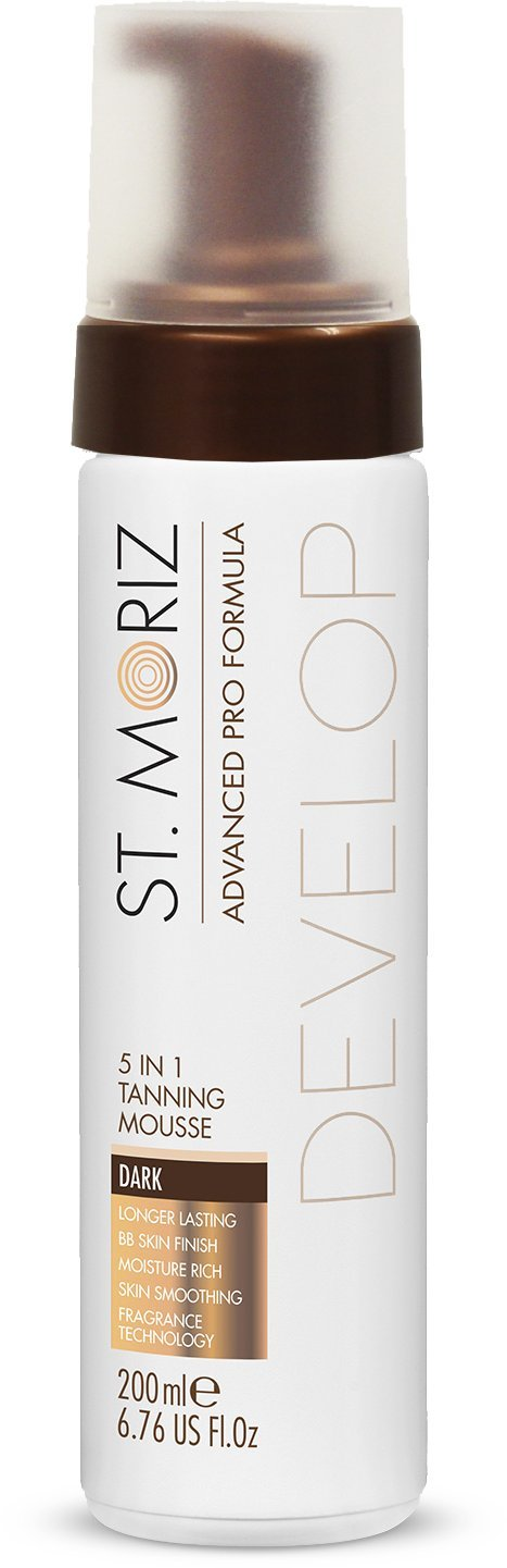St. Moriz Advanced Pro Formula 5in1 Tanning Mousse in Dark 200ml Cosmarida 074.151