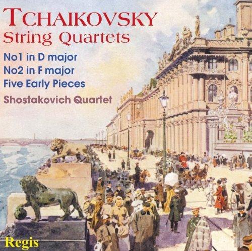 Tchaikovsky: String Quartets- No. 1 in D Major / No. 2 in F Major / Five Early Pieces (2013-01-29) (Tchaikovsky String Quartet No 1 In D Major)