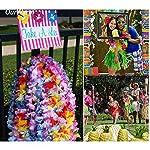 Hawaiian-Leis-Necklace100Pcs-Lei-Hawaii-Flowers-Necklace-GarlandTropical-Luau-Rainbow-Coloured-Flower-Lei-Silk-Flower-Garland-for-Luau-Theme-Summer-Beach-Party-Costume-Dress-Birthday-Christmas-100