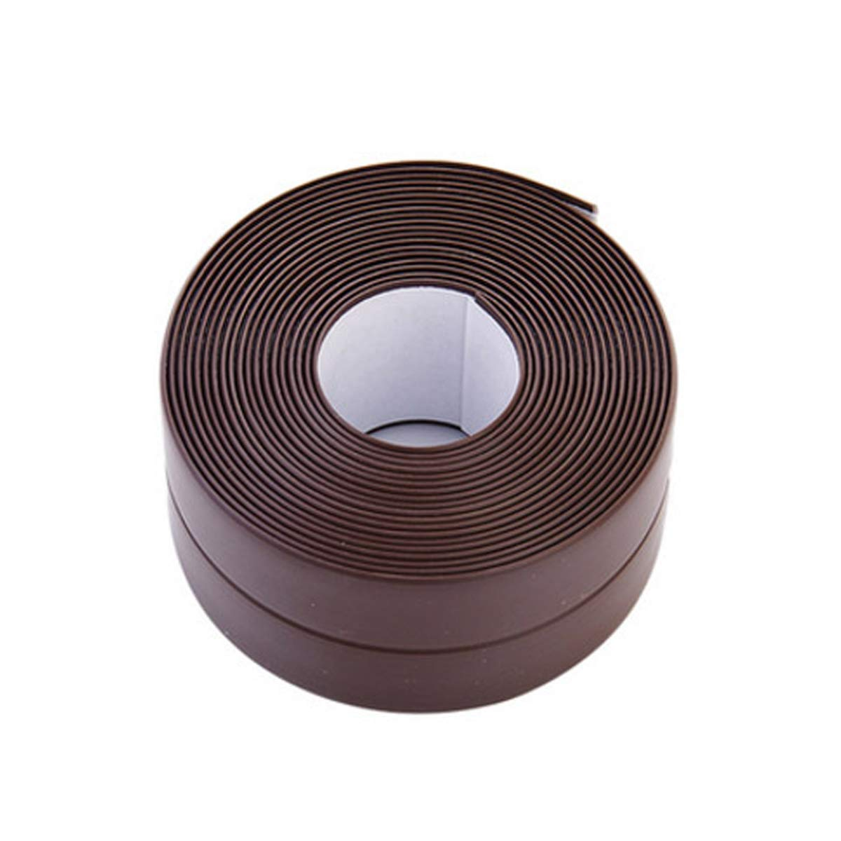 Donnagelia Caulk Strip PVC Self Adhesive Wall Sealing Tape Pre-Shaped & Waterproof & Mildewproof for Kitchen Bathroom Tub Toilet 320cm x 3.8cm