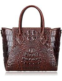 Embossed Crocodile Handbags Designer Purses Top Handle Shoulder Bag